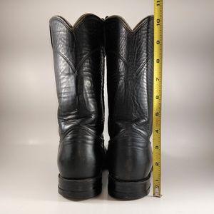 Justin L 3703 Roper Cowboy Boots Womens Sz 8.5B